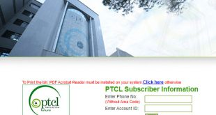 Get Your PTCL Duplicate Bill Online