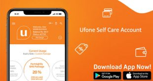 Ufone Self Care Account - Ufone ECare Account