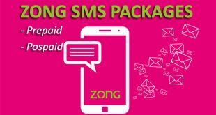 Zong SMS Packages Daily Weekly and Monthly