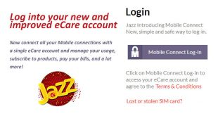 Check Jazz Call History with Mobilink Jazz ECare Account