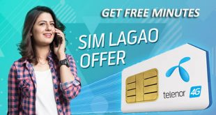 Telenor SIM Lagao Offer or Telenor Band SIM Offer