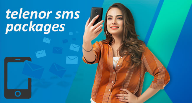 Telenor SMS Packages Daily, Weekly, Monthly