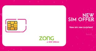 Zong New SIM Offer