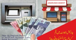 How to Deposit Money in JazzCash Account from Bank Account